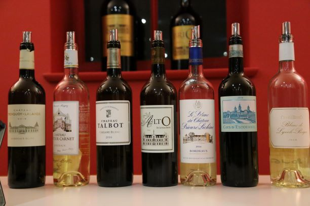 Bordeaux Blancs by great Chateaux